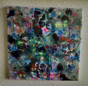 """Death & Art 8"" 12x12 $30"