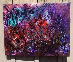 """""""Velvet Darkness"""" 16x20 $150"""