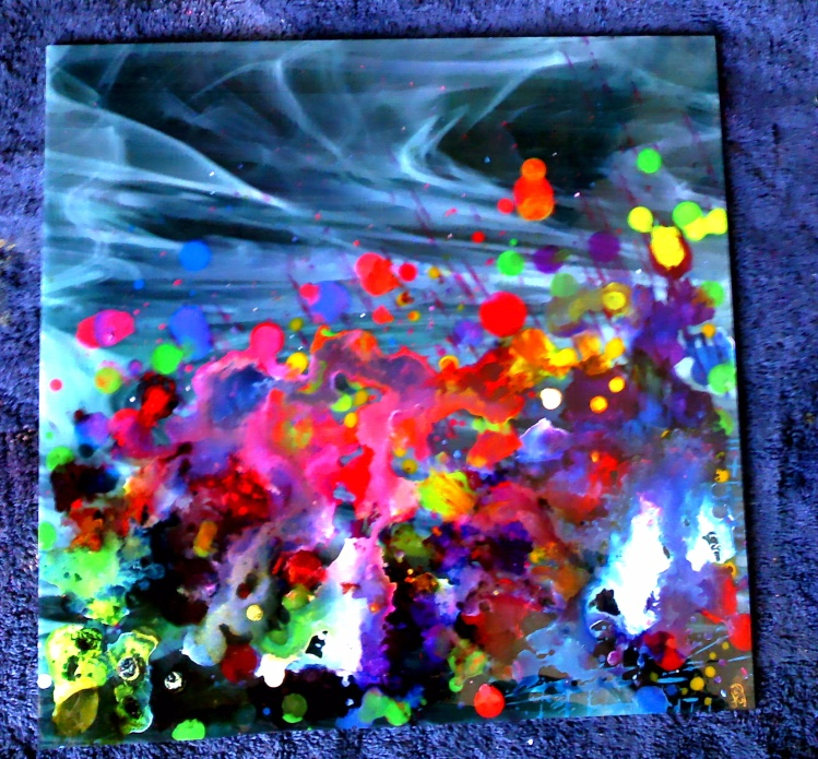 Glass paintings and etsy....
