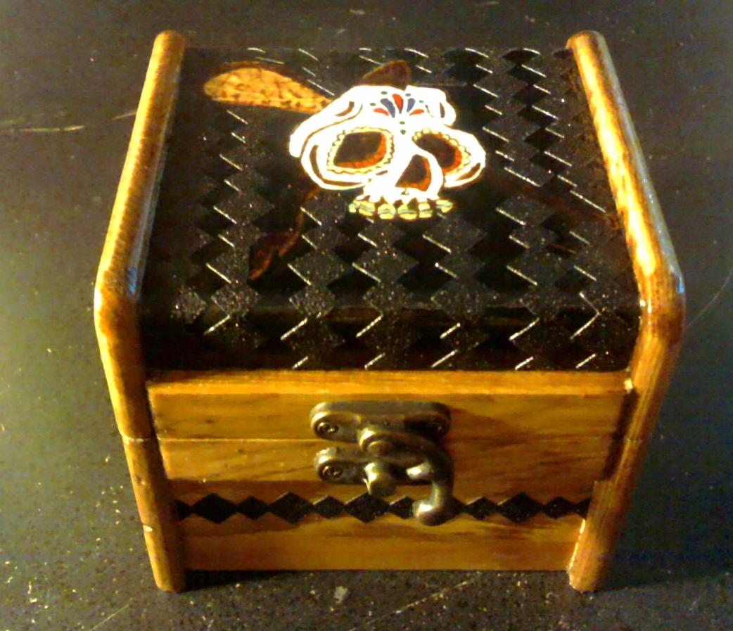 Sugar Skull Lacrosse box