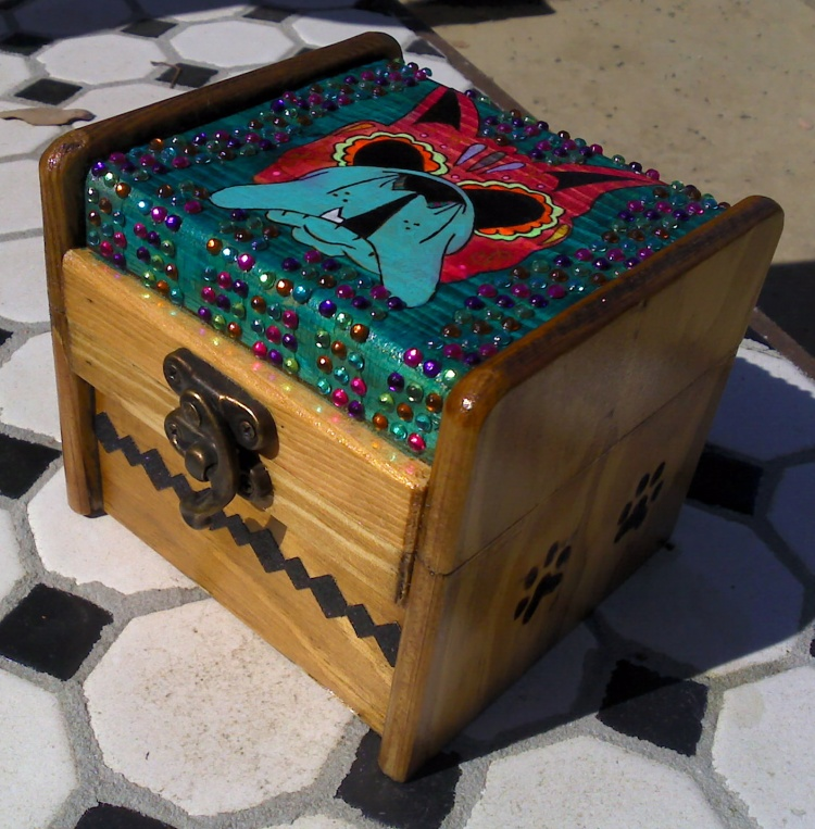 Day of the Dead Boxer box