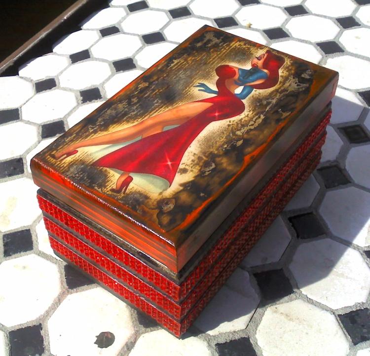 Jessica Rabbit box