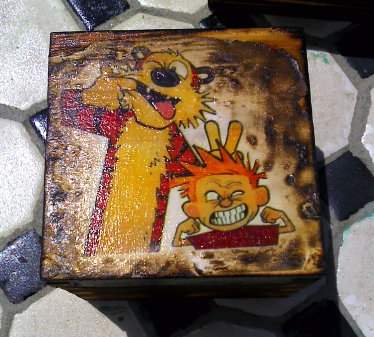 Mini Calvin & Hobbes box