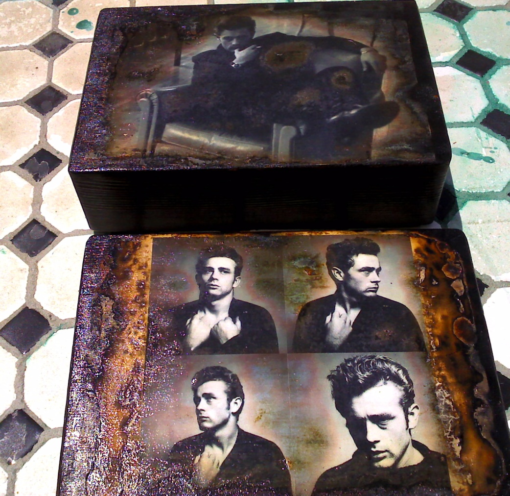 James Dean lunchbox