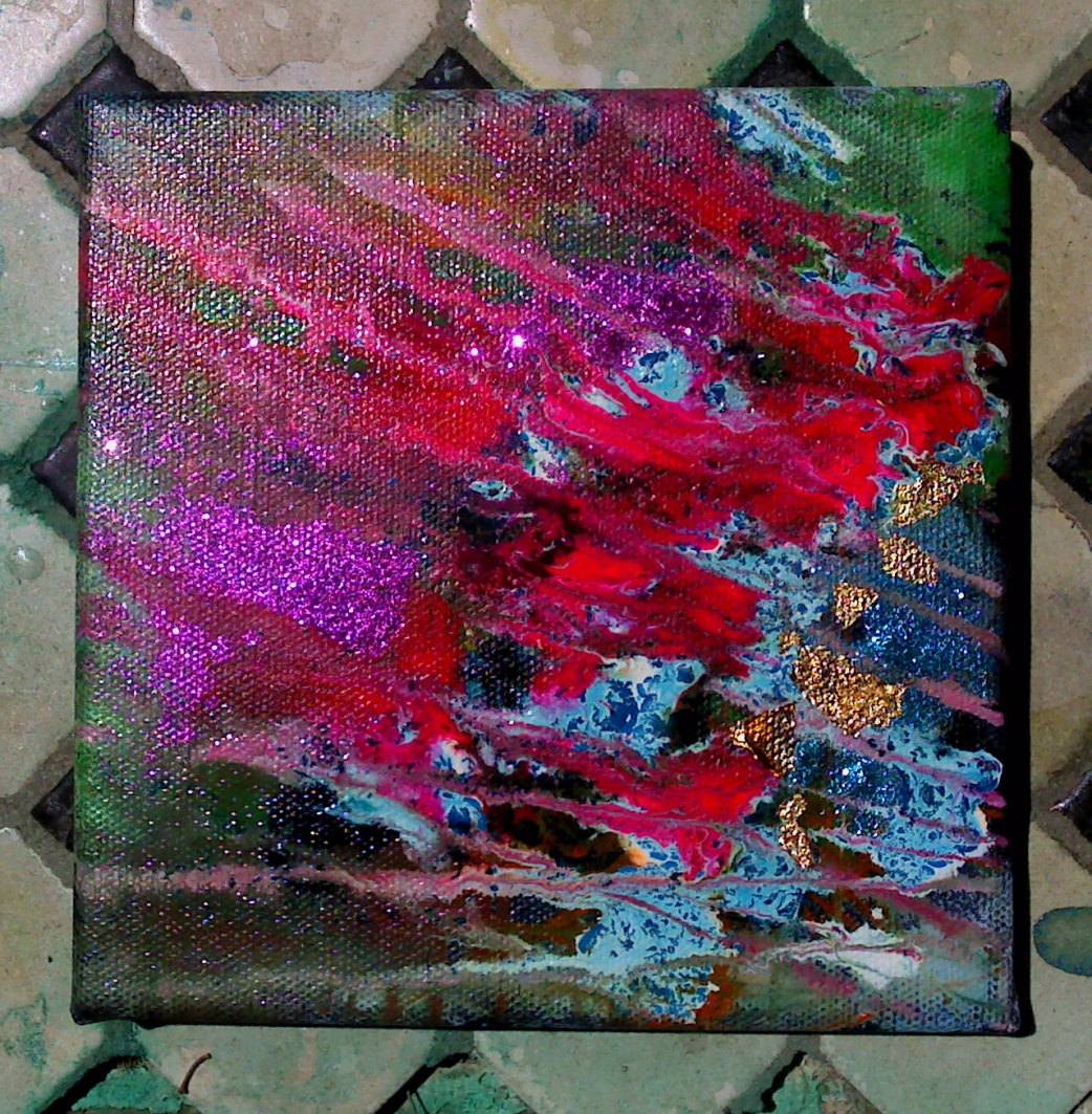 New Abstract Acrylic...