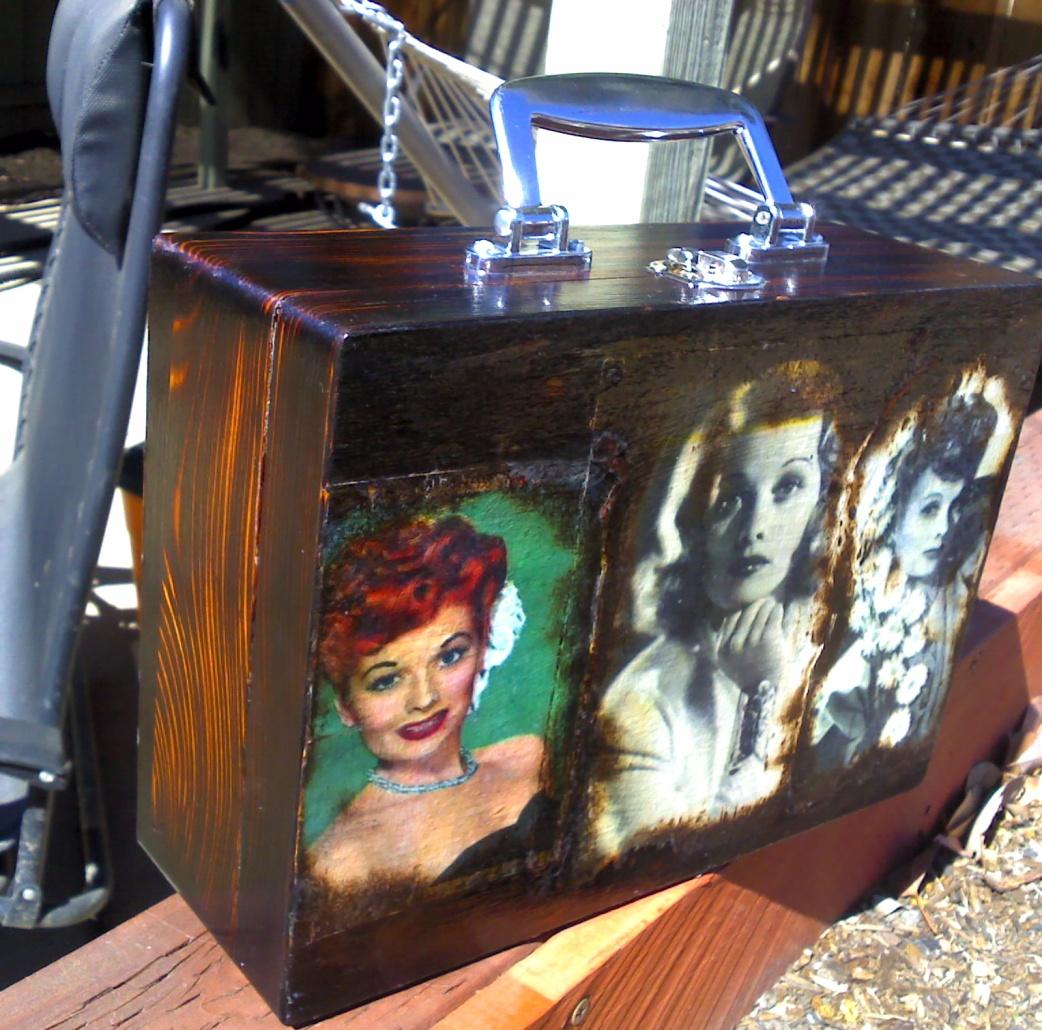 Lucille Ball custom box