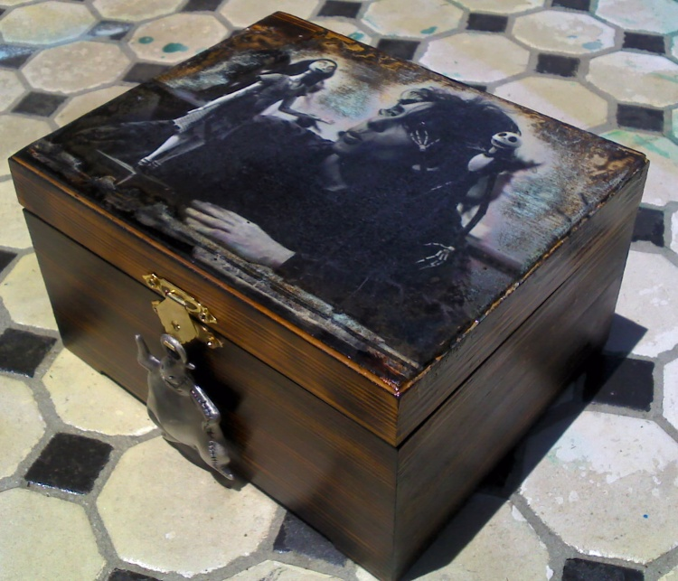 Tim Burton Jack & Sally box