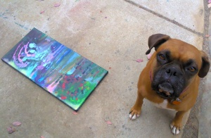 mookie w painting