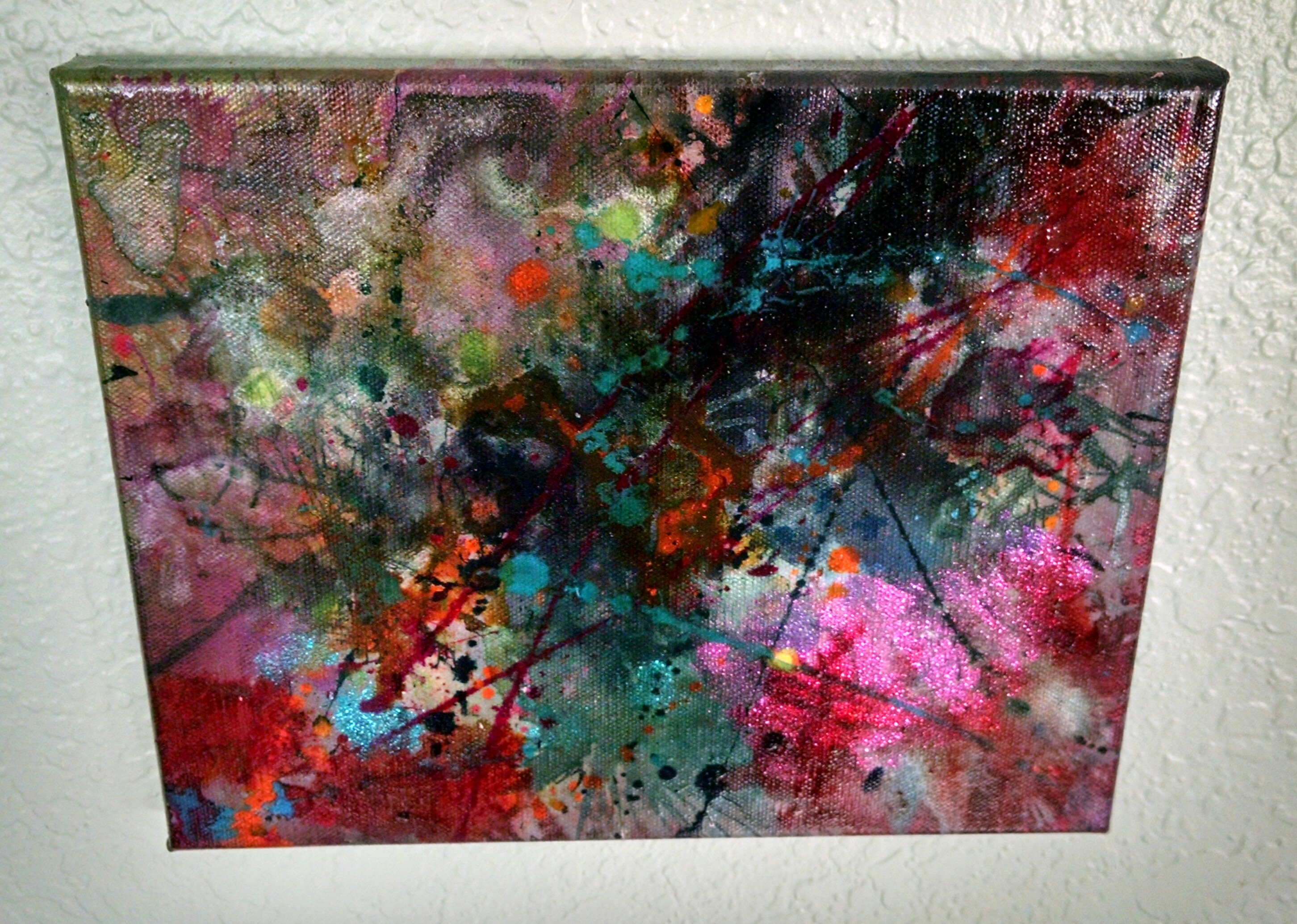 pop rocks soda abstract acrylic and ink the artwork of acp