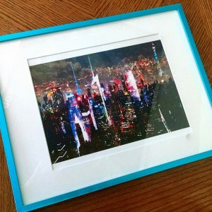 nyc print framed 2