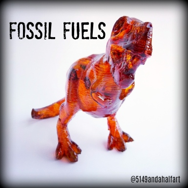 Fossil Fuels Amber