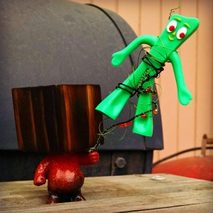 gumby toy notface yet