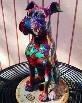 **SOLD Boxer Statue #3