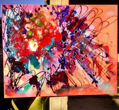 """""""The Version of You In My Head"""" 16x20 $160"""