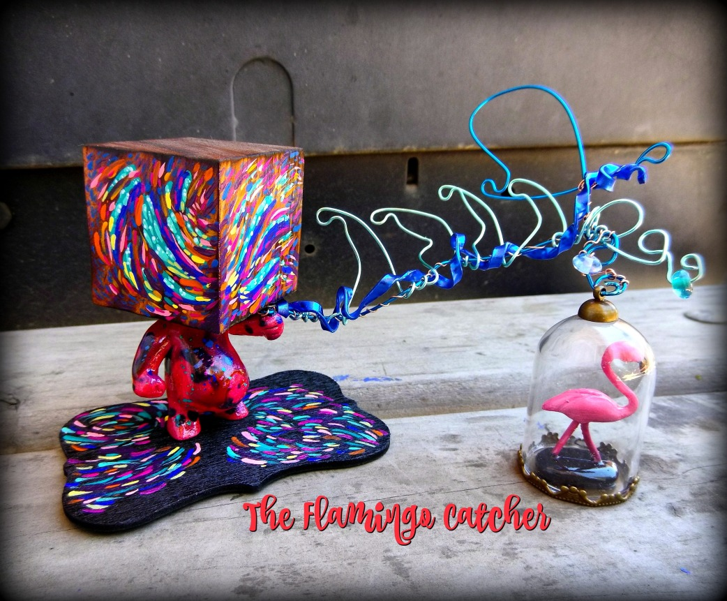 flamingo catcher waves