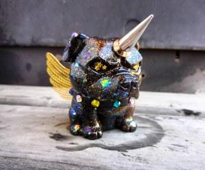 """Unicorn Pittie"" customized Danger Dog"